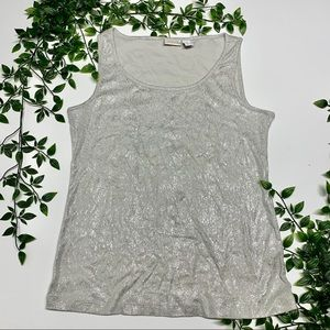Chico's Shimmery Tank Top (1)